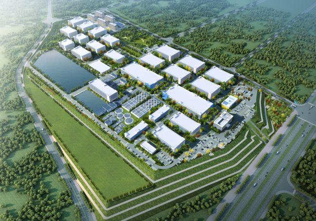 龙岩银雁新城生态轻纺电子园标准厂房项目